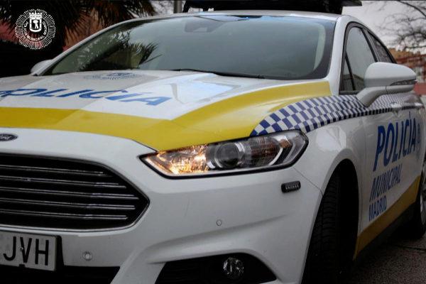 Uno de los vehículos de la Policía Municipal.
