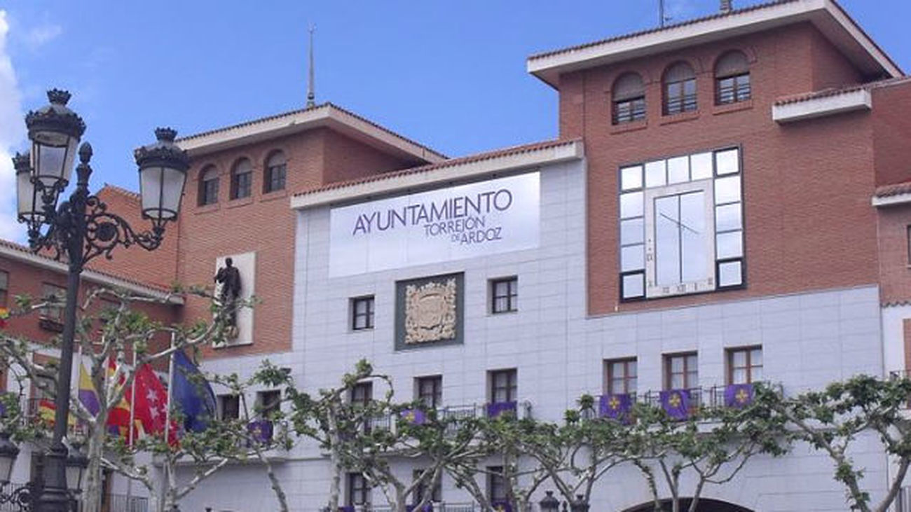 Fachada del Ayuntamiento de Torrejón de Ardoz