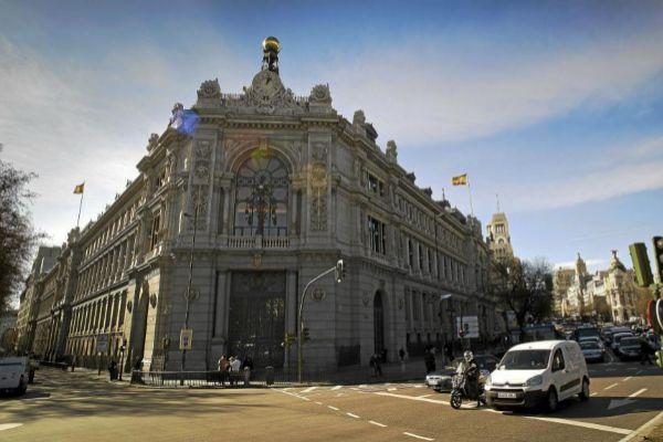 Sede del Banco de España, en la madrileña plaza de Cibeles.