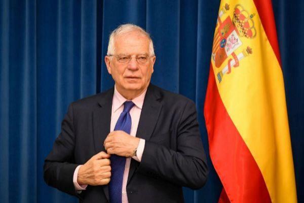 El ministro en funciones Josep Borrell, en una imagen de archivo.