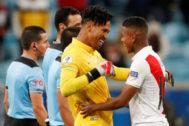 Copa America Brazil 2019 - Semi Final - Chile v <HIT>Peru</HIT>
