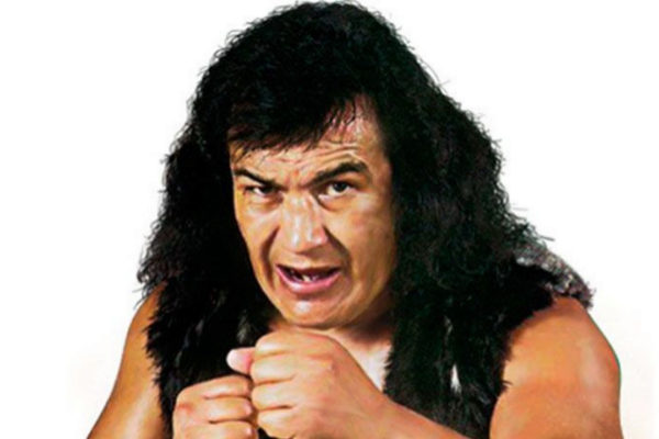'El Perro' Aguayo, leyenda de la lucha libre mexicana.