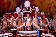 Imagen de 'Passion' de Yamato The Drummers of Japan, uno de los espectáculos que podrá verse en Sagunt a Escena.
