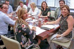 Los miembros del Consejo de Dirección del PP, ayer durante su reunión.