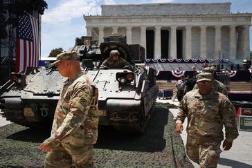 Trump 'militariza' la fiesta del 4 de Julio