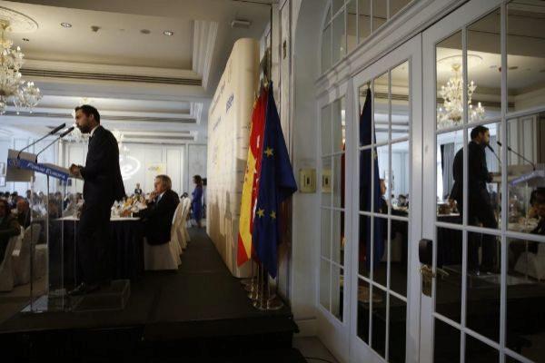 GRAF8294. MADRID.- El presidente del Parlamento de Cataluña, Roger <HIT>Torrent</HIT>, interviene en un desayuno de la tribuna Fórum Europa.