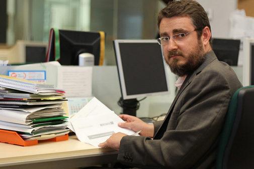 El escritor castellonense Pablo Sebastiá.