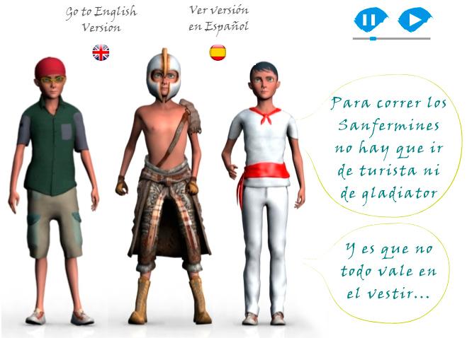 A Pamplona hemos de ir... ¡bien vestidos por San Fermín!