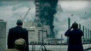 Una de las escenas grabadas en la central de Ignalina por el equipo de producción de HBO.