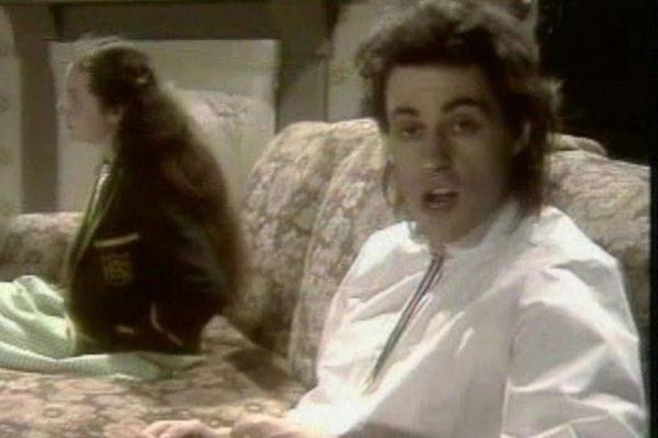Imagen del videoclip de la canción de The Boomtown Rats