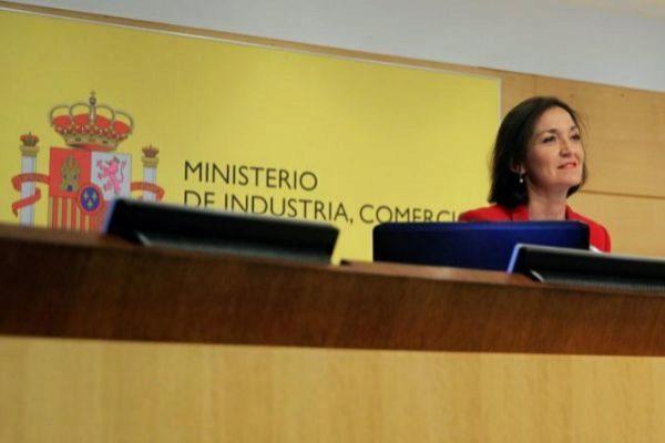 La ministra de Industria, Comercio y Turismo en funciones, María Reyes Maroto.