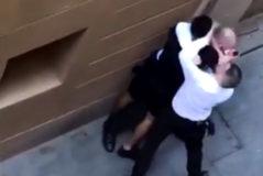 Detenido un menor magrebí por agredir a un vigilante de seguridad con una navaja tras robar a un turista