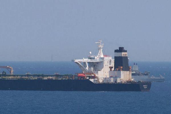 El petrolero Grace 1, sospechoso de llevar crudo a Siria.