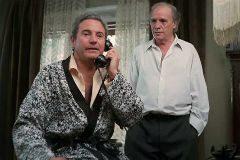 Arturo Fernández y Paco Rabal en la película 'Truhanes'.
