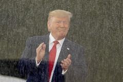 Trump, en un momento del discurso.