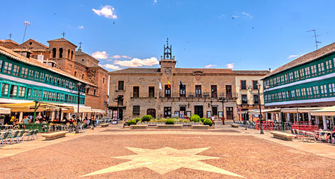 La Plaza Mayor de Almagro.