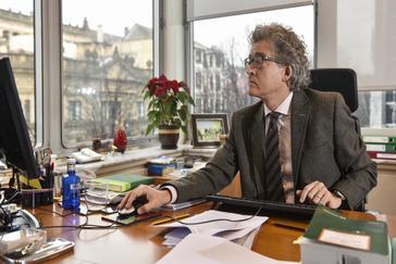 Tomás Arrieta, presidente del CRL.