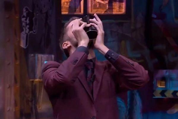 David Broncano en el final de temporada de La Resistencia, donde destruyó todas las tazas
