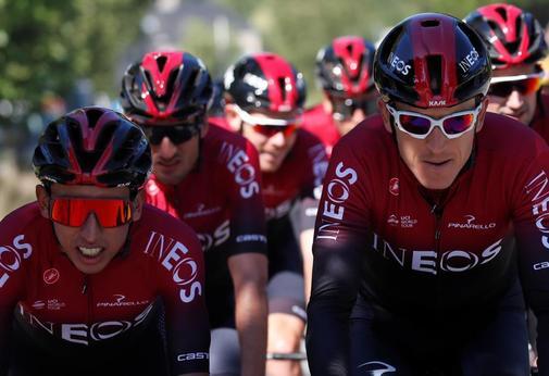 Tour de France - Team INEOS Training