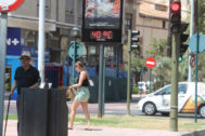 Las temperaturas volverán a marcar 40º este fin de semana en Castellón.