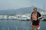 Gil, en Marbella, en los años 90.
