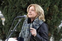 Consuelo Ordóñez en un acto público.