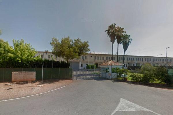 Entrada del centro penitenciario Castellón I, en la Comunidad Valenciana.