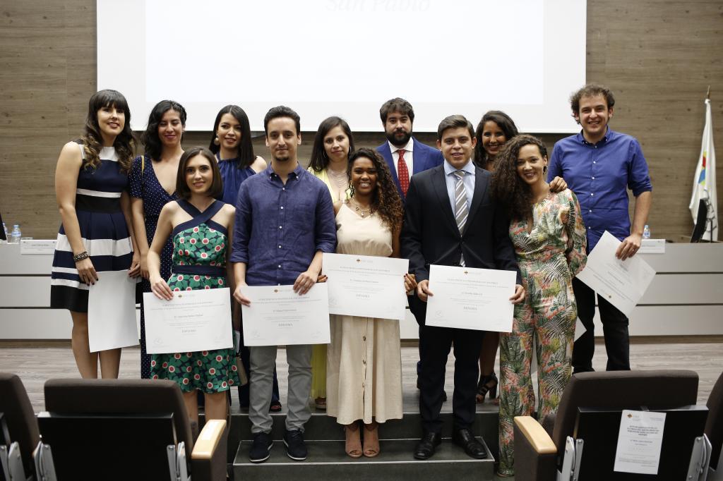 Alumnos de la Escuela de Periodismo y Comunicación de Unidad Editorial.