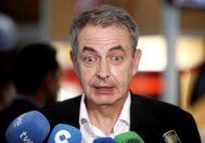 José Luis Rodríguez Zapatero, ex presidente del Gobierno, del PSOE.
