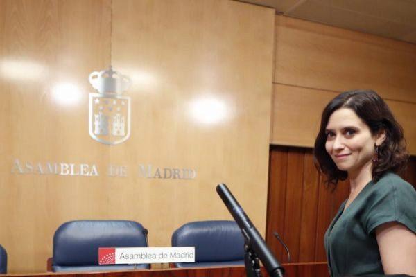 Isabel Díaz Ayuso, aspirante a la Presidencia de Madrid.