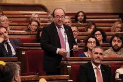 Miquel Iceta, en una intervención parlamentaria