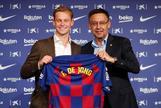 """El Barça, De Jong y Cruyff: """"Somos herederos de ese Ajax"""""""