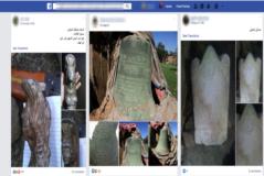 Restos arqueológicos a la gente en Facebook.