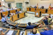 El pleno de esta semana en la Diputación de Alicante.