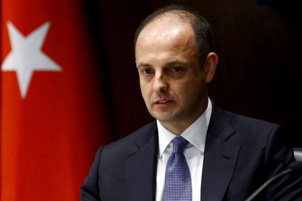 Murat Çetinkaya, gobernador del Banco Central de la República de...