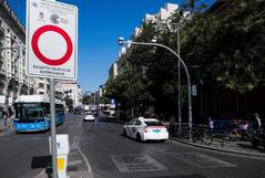 Las multas vuelven el lunes a Madrid Central