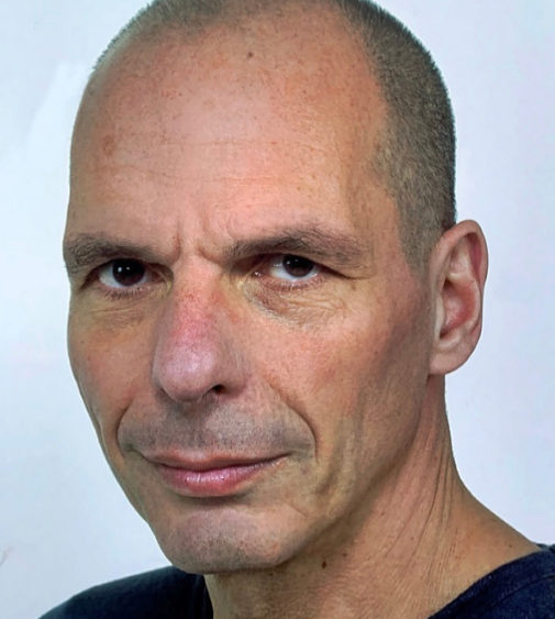 Retrato de Yanis Varoufakis.