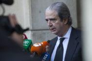 El abogado José María Mohedano, ex diputado del PSOE y firmante del escrito de apoyo a Núñez.