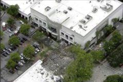La estructura del centro comercial ha resultado seriamente dañada.