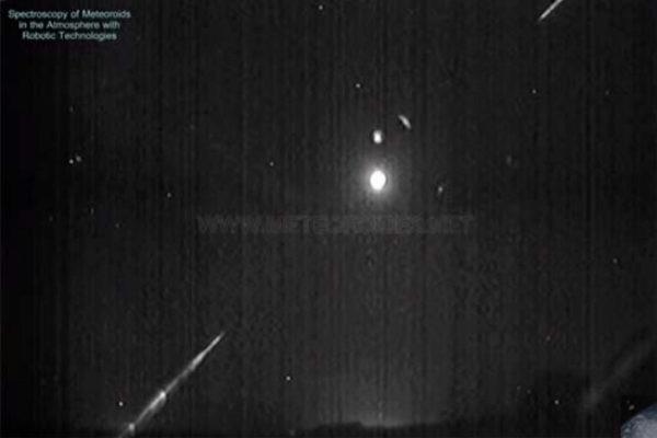 El fenómeno ha podido ser grabado por los detectores del centro Astronómico de La Hita (Toledo).