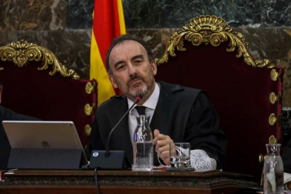 Manuel Marchena, presidente de la Sala del Supremo que enjuicia el...