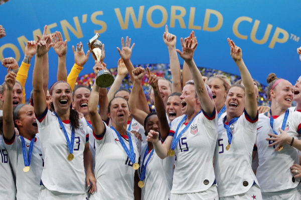 Women's World Cup Final - United States v Netherlands Soccer Football...