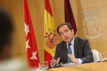 Borja Carabante, delegado de Movilidad del Ayuntamiento de Madrid.