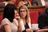 Elsa Artadi, en una sesión parlamentaria