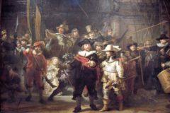 'La rionda de noche' de Rembrandt.