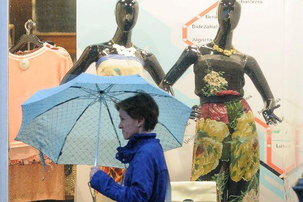 Alerta de aviso amarillo el lunes y martes por tormentas y granizo en Euskadi