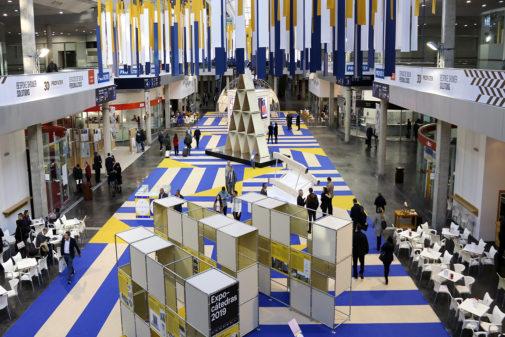 La pasada edición de Cevisama congregó a miles de asiduos al sector cerámico en Feria Valencia.