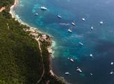 La isla de St. Thomas, a 80 kilómetros de Puerto Rico y antiguo coto...