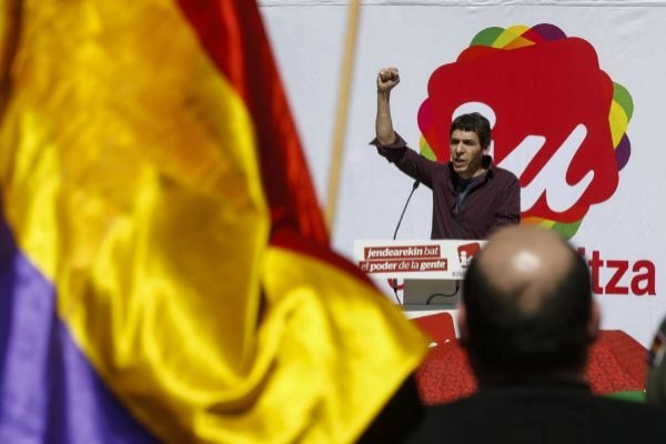 Jon Hernández, en un acto público.