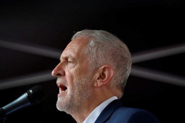 El líder de la oposición laborista, Jeremy Corbyn.